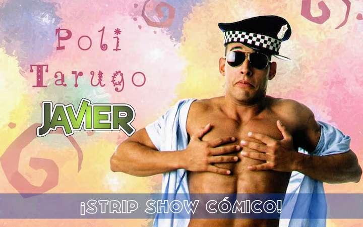 Javier, el stripper más cómico y divertido de barcelona